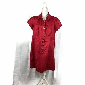 NWT Dress Barn Ruby Red Dress Sz 16W